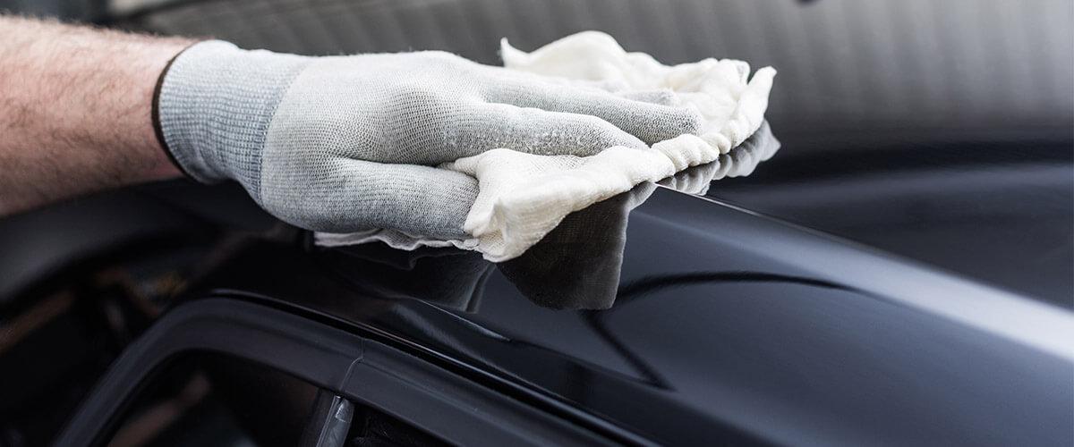 Staubbindetücher Auto lackieren