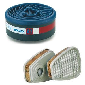 Gasfilter für Atemschutzmasken